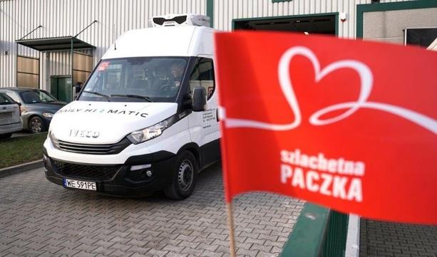 Flota Iveco dowiozła Szlachetne Paczki do rodzin w całej Polsce