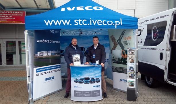 STC IVECO na Targach Budownictwa
