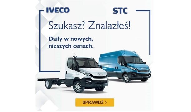 Teraz nowe IVECO Daily w nowych, niższych cenach!