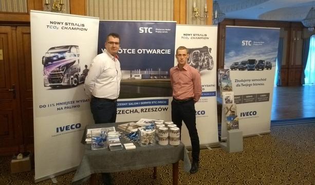 STC IVECO dla transportu drogowego